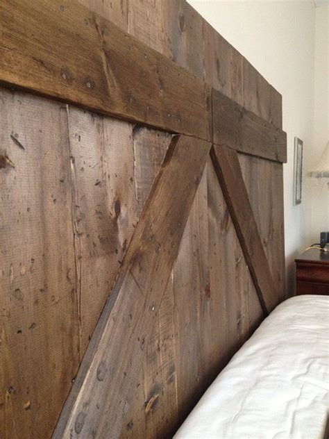 12 best images about rustic barn door wall on