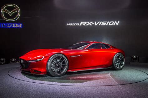 mazda sports car mazda rx vision rotary engined sports car concept revealed