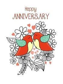 Free Printable Anniversary Cards, Create and Print Free