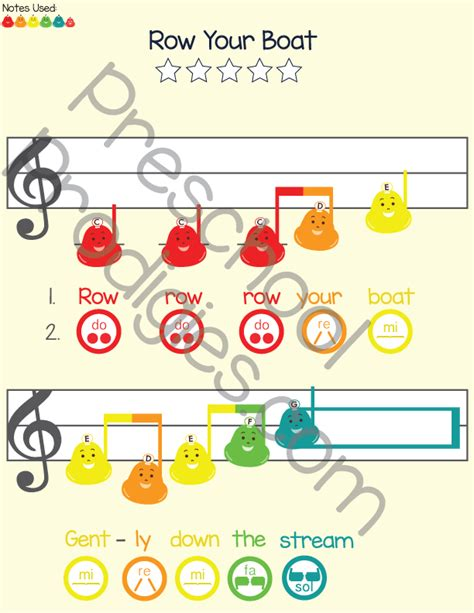 row row row your boat boomwhackers my first songbook volume i prodigies music lessons for