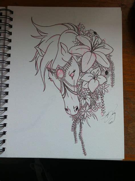 horse tattoo by hermara on deviantart