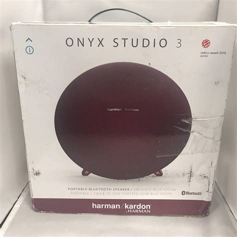 Bluetooth Speaker Harman Kardon Onyx Studio 3 Original harman kardon onyx studio 3 portable bluetooth speaker system ebay