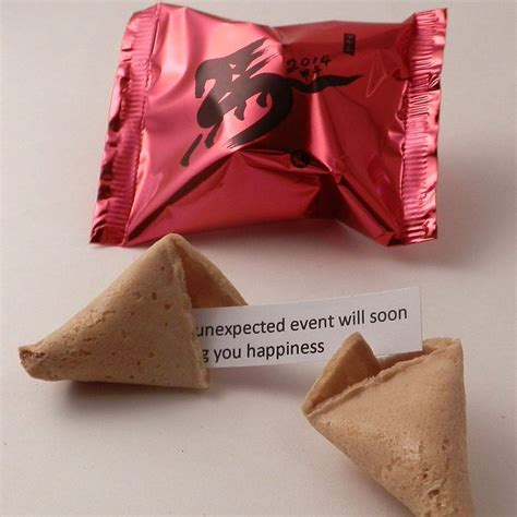 new year fortune cookies new year fortune cookies wrap by bunting