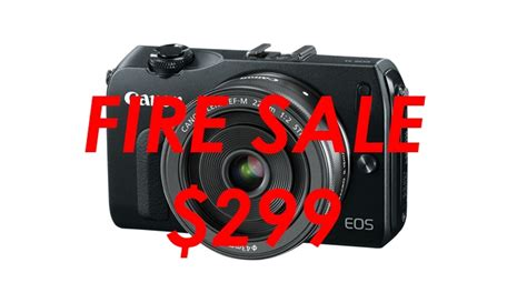 Canon Eos M Only sale the canon eos m is only 299 fstoppers