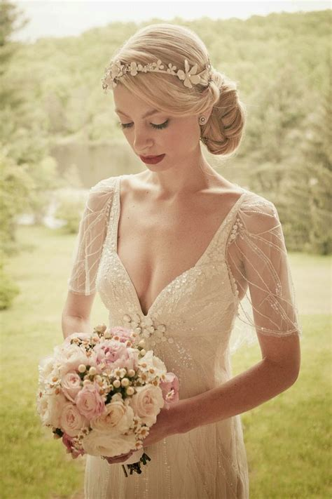 Vintage Style Wedding Hair by Vintage Hairstyles Vintage Wedding Hair Styles
