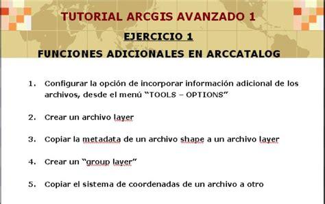 tutorial topologia arcgis geoinformaci 243 n video tutoriales de arcgis 9x avanzado