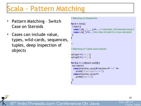 scala pattern matching empty seq writing dsl s in scala