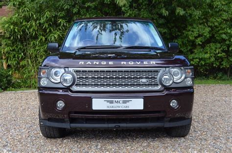 burgundy range rover used burgundy metalic land rover range rover for sale