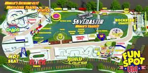 Fun Spot Orlando Map by Fun Spot Action Park In Orlando
