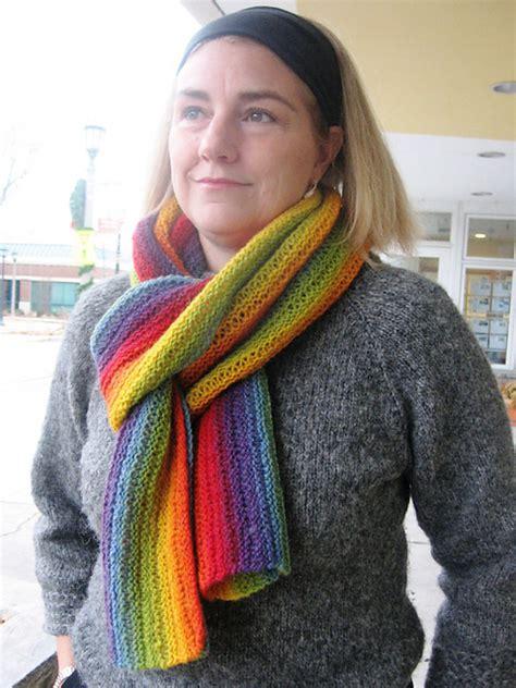 knit scarf pattern medium yarn the yarn garden blog the colors of kauni
