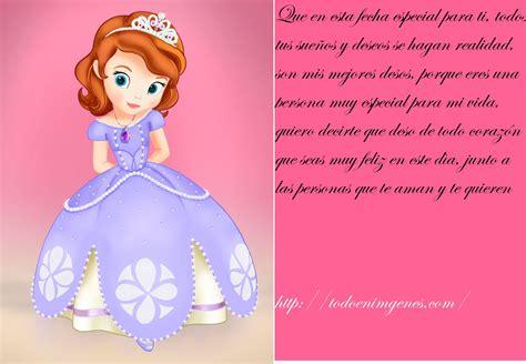 imagenes feliz cumpleaños sofia im 225 genes de feliz cumplea 241 os con la princesita sofia