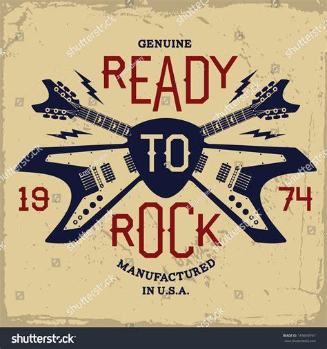 imagenes retro guitar tab etiqueta vintage con listo para el rock y la guitarra