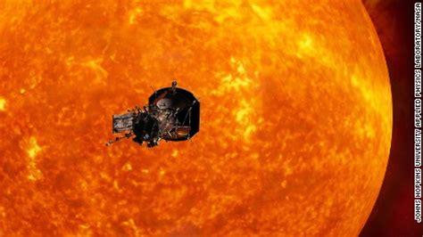 The Weather Painter Sun Spwa En032 Secret 1st Edition nasa s mission to the sun launches summer 2018 cnn