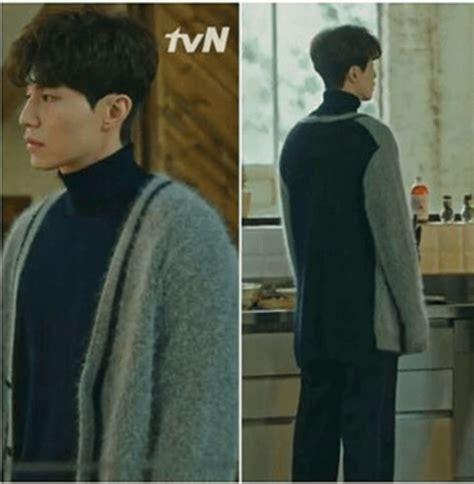 reaper sweater dong wook in goblin korean drama