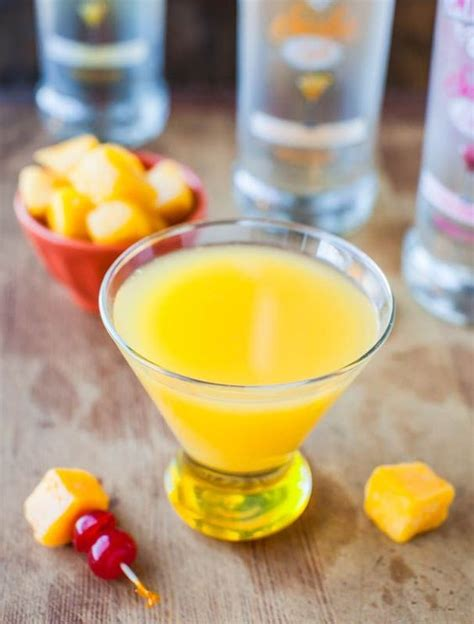 martini tropical mango coconut water tropical martini martini ingredients