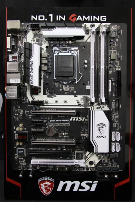 Msi Z170a Krait Gaming msi z170a motherboards up xpower gaming gaming m9