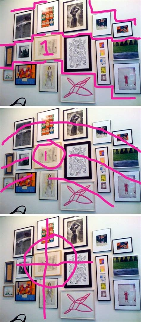 how to hang art on wall belle put together and galleries on pinterest