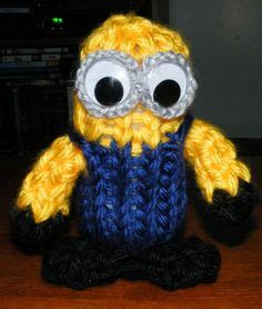 knitted minion slippers loom knitted minion slippers loom knitted and machine