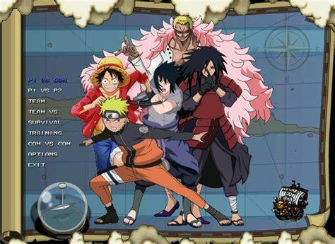 anime pc games one piece vs naruto mugen v2 2014 pc games anime pc
