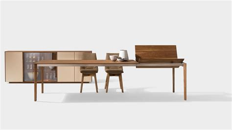 piedi tavolo legno tavolo allungabile tak con piedi in legno per i puristi