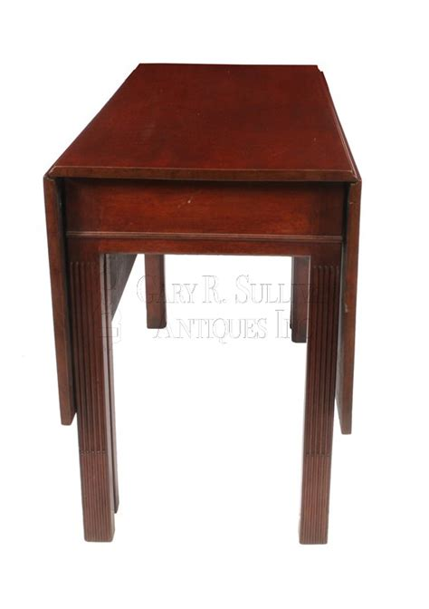 Townsend Dining Table Chippendale Drop Leaf Dining Table Newport Ri Clocks 14045 Gary Sullivan Antiques