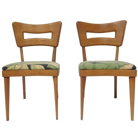 Heywood Wakefield Dining Chair Pair Of Mid Century Modern Heywood Wakefield Quot Biscuit Quot Dining Chairs 1950 S At 1stdibs