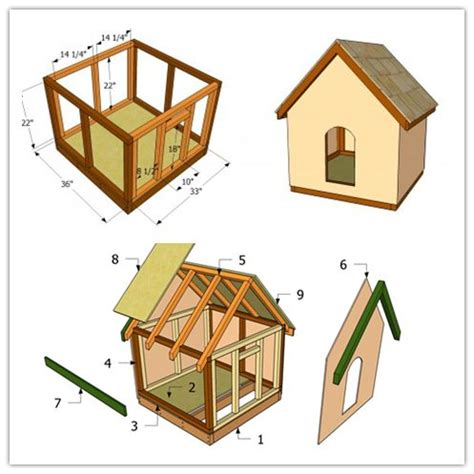 how to make dog house how to make a simple doghouse step by step diy tutorial instructions projects