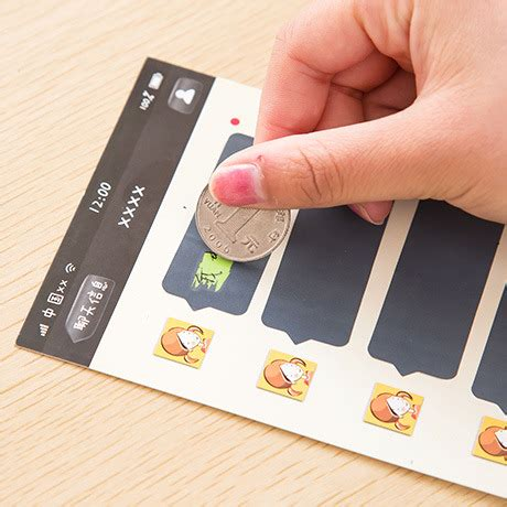 Gift Cards For Girlfriend - cute vindicate couple scratchcard postcard fun scratch creative greeting cards