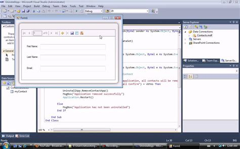 Delete All Records From Table visual basic delete all records from a specified