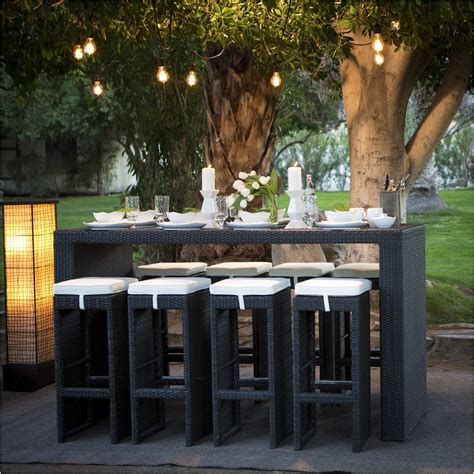 Outdoor Dining Sets Bar Height Bar Height Patio Table And Chairs Bar Height