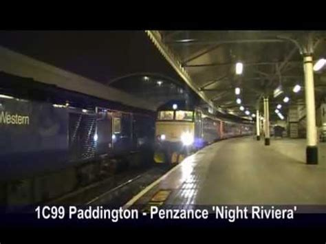 Riviera Sleeper Service by 1c99 The Riviera Great Western 57605 Departs