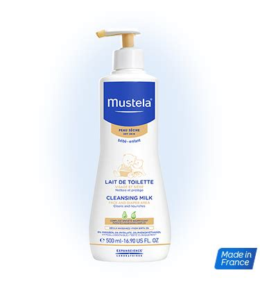 Milk Cleanser Credit 500ml milk for cleaning and moisturizing baby s area