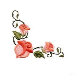 Rose Flower Pictures Free - flower design border clipart best
