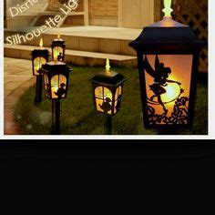 new disney tinker bell solar light l lantern garden