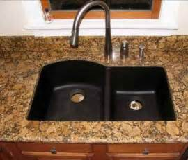 How To Clean A Black Kitchen Sink Black Granite Composite Sink Cleaning Interior Exterior Doors