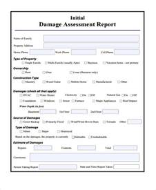 15 damage report templates free sample example format