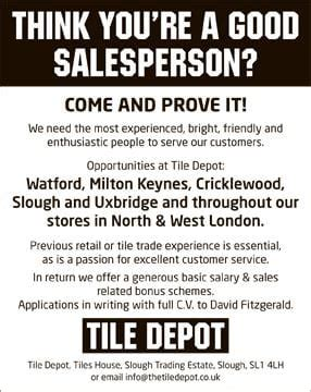 101 Great Tips For A Salesperson alert salespersons required australian times