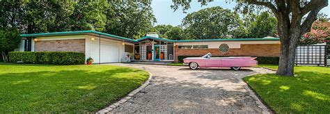 mid century modern home design blogs amazing 1950s time capsule house in dallas could be yours inhabitat green design innovation