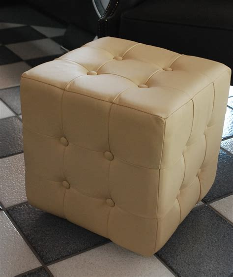 chesterfield bench seat chesterfield stool 100 genuine leather bench seat ottoman cube stool antique ebay