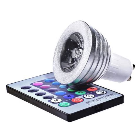 Colour Changing Led L With Remote by Crystalite Colour Changing Led Gu10 With Remote
