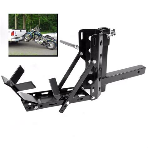 Trailer Hitch Motorcycle Rack by Lightweight Portable Motorcycle Mx Trailer Carrier Tow