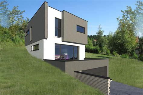 Ordinaire Reduction Habitat Et Jardin #3: maison-bois-terrain-en-pente-lorraine-innov-habitat2.jpg