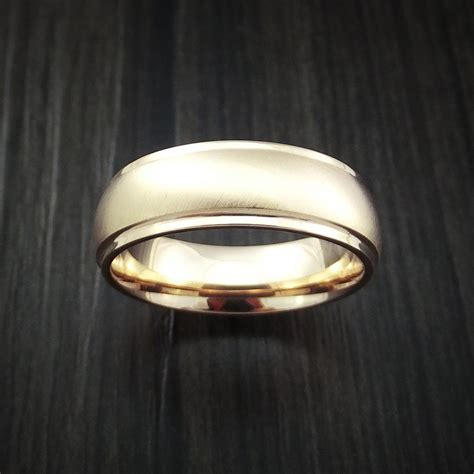 14k gold classic style wedding band custom made