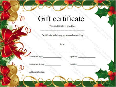 Gift Card Blanks - gift card templates free premium templates