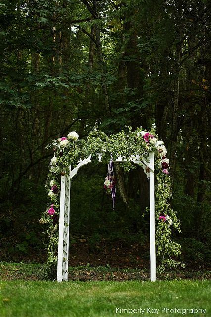 outdoor wedding arbor wedding ideas pinterest