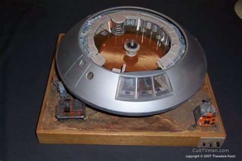 lost in space jupiter 2 model ted koch s jupiter 2 model culttvman s fantastic modeling