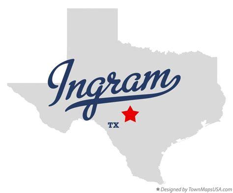 ingram texas map map of ingram tx texas