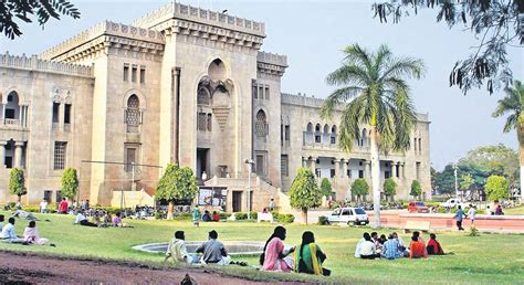 Top Mba Colleges In Hyderabad Affiliated To Osmania by Hyderabad S Osmania In Top 1 000 Universities