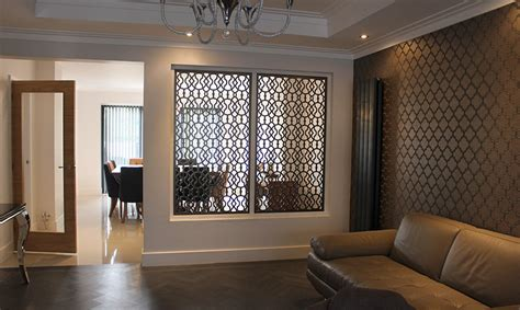 Interior Partitions by Laser Cut Screens And Decorative Architectural Panels