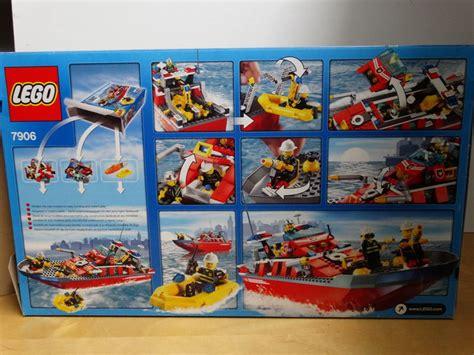 lego boot met motor city 7906 brandweerboot met motor catawiki